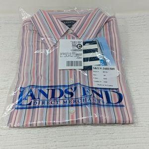 Lands End Women's 3/4 Sleeve Dress Shirt
